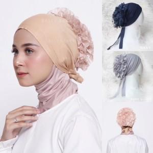 Harga inner cepol ciput turki brokat hijab | HARGALOKA.COM
