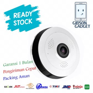 Harga ip cam camera kamera fisheye 360 panoramic cctv wireless toko | HARGALOKA.COM
