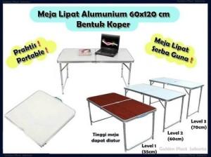 Harga meja lipat aluminium model   HARGALOKA.COM