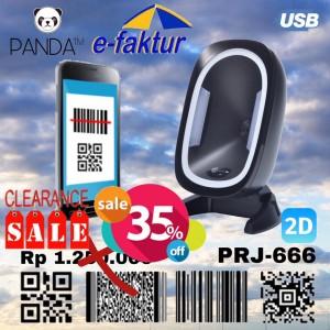 Harga omni directional 2d panda prj870 imager area barcode scanner duduk | HARGALOKA.COM