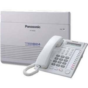 Harga paket pabx panasonic kapasitas 3 line 8 ext plus pesawat telepon 6 | HARGALOKA.COM
