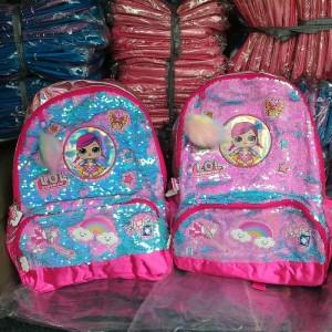 Harga tas ransel sd sequin lol backpack   HARGALOKA.COM