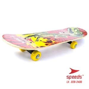 Harga skateboard anak tanggung gambar motif kartun berwarna roda pvc type | HARGALOKA.COM
