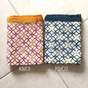 Harga kain batik cap doby motif kawung kain lilit rok | HARGALOKA.COM