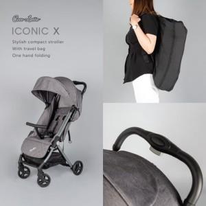 Harga new kereta dorong bayi stroller cocolatte cl lt 707 iconic x   | HARGALOKA.COM