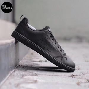 Harga adidas original neo advantage full black   | HARGALOKA.COM