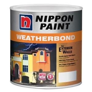 Harga nippon paint weatherbond cat tinting tembok eksterior 2 | HARGALOKA.COM