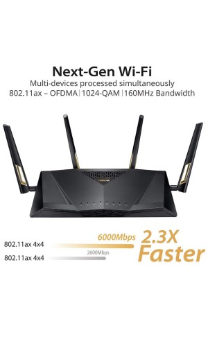 Harga asus rt ax88u wireless 802 11ax wifi 6 dual band wi fi ax6000m   HARGALOKA.COM
