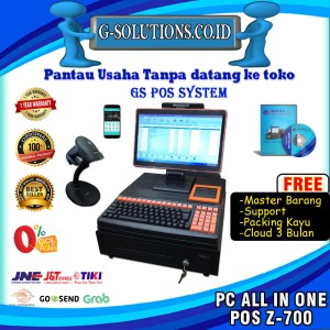 Harga komputer kasir all in one nurapos j700 software gspos | HARGALOKA.COM