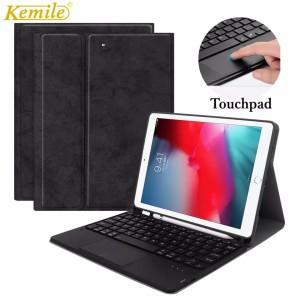 Harga bluetooth keyboard case ipad mini 5 4 with touch pad and pencil   HARGALOKA.COM