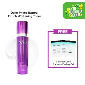 Harga osho   phyto natural enrich whitening toner free 3 sch peeling | HARGALOKA.COM