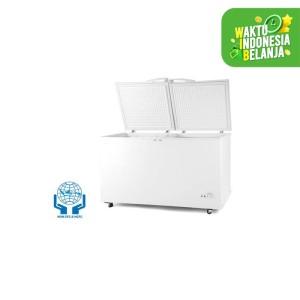 Harga denpoo scf 658 fl chest freezer     HARGALOKA.COM