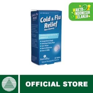 Harga natra bio cold amp flu relief c amp f 60 | HARGALOKA.COM