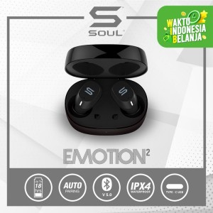 Harga soul emotion2 tws earphone bluetooth v 5 0 waterproof wireless   | HARGALOKA.COM