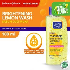Harga clean amp clear brightening lemon wash   HARGALOKA.COM