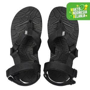 Harga sandal gunung pria jepit ilama polos arei outdoorgear   hitam | HARGALOKA.COM