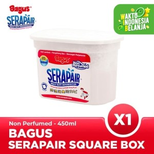 Harga bagus serapair square box 450 ml non | HARGALOKA.COM