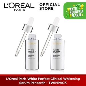 Harga l 39 oreal paris white perfect clinical whitening serum pencerah   HARGALOKA.COM