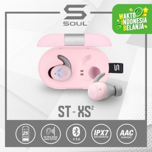 Harga soul st xs2 high performance earphones headset with bluetooth   merah | HARGALOKA.COM