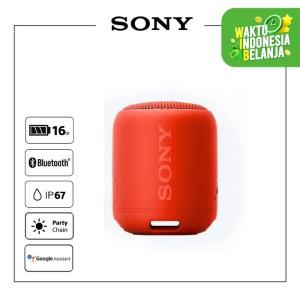 Harga sony srs xb12 red extra bass waterproof bluetooth speaker | HARGALOKA.COM