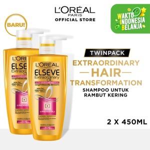 Harga l 39 oreal paris hair care extraordinary oil shampoo 450ml | HARGALOKA.COM