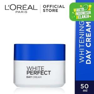 Harga l 39 oreal paris white perfect day cream spf 17   krim   HARGALOKA.COM
