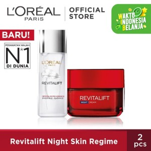 Harga l 39 oreal paris revitalift night skin | HARGALOKA.COM