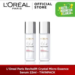 Harga l oreal paris revitalift crystal micro essence serum 22ml   HARGALOKA.COM