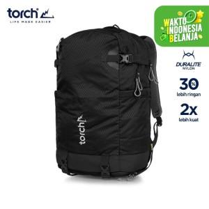 Harga torch tas ransel light travel backpack shiojiri 30l   midnight | HARGALOKA.COM