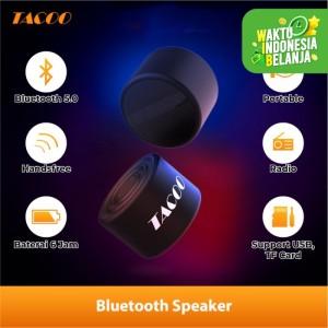 Harga tacoo bluetooth speaker tap5611 1200mah deep bass hi fi sound | HARGALOKA.COM