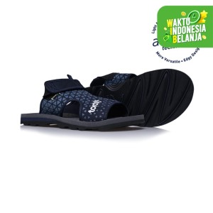 Harga sandal traveling torch bahama triangle navy   | HARGALOKA.COM