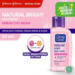 Harga clean amp clear natural bright face wash   HARGALOKA.COM