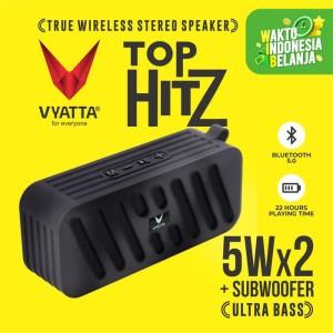 Harga vyatta top hitz tws speaker   stereo bluetooth usb tf   ultra bass   briliant | HARGALOKA.COM