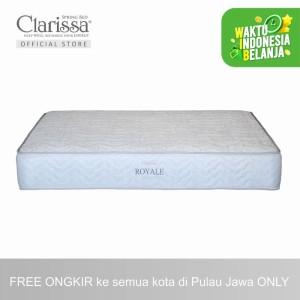 Harga clarissa kasur spring bed royale extra comfort   | HARGALOKA.COM