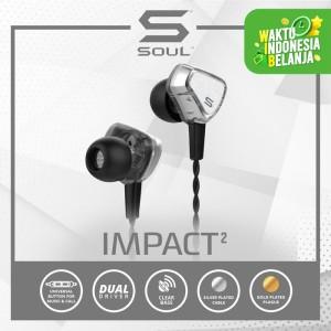Harga limited edition   soul impact 2 earphone kabel super bass | HARGALOKA.COM