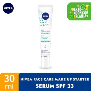 Harga nivea face care make up starter serum spf33 | HARGALOKA.COM