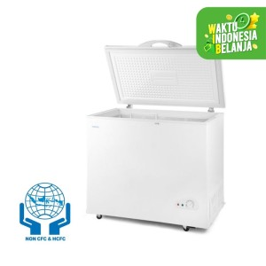 Harga denpoo freezer box scf 440   338   HARGALOKA.COM