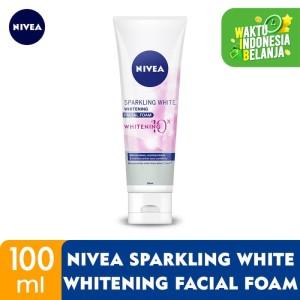 Harga nivea sparkling white whitening facial foam | HARGALOKA.COM