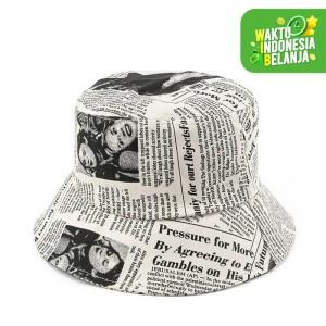 Harga urban state   newspaper bucket hat   | HARGALOKA.COM