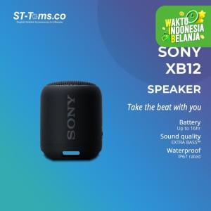 Harga sony srs  xb12 xb 12 extra bass portable bluetooth speaker   | HARGALOKA.COM