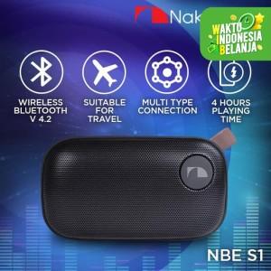 Harga nakamichi nbe s1 speaker portable audio wireless bluetooth | HARGALOKA.COM