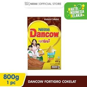 Harga dancow fortigro susu bubuk coklat box | HARGALOKA.COM