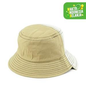 Harga urban state   colorblock bucket hat   cream | HARGALOKA.COM