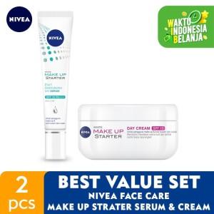Harga nivea face care make up starter serum amp cream   best value | HARGALOKA.COM
