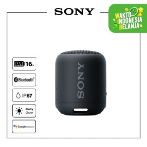 Harga sony srs xb12 black extra bass waterproof bluetooth speaker | HARGALOKA.COM