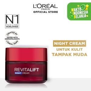 Harga l 39 oreal paris revitalift night cream   krim anti aging   HARGALOKA.COM
