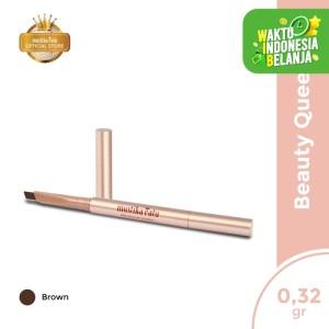 Harga mustika ratu q e eyebrow waterproof beauty queen pensil alis   HARGALOKA.COM