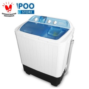 Harga denpoo mesin cuci 2 tabung dw 8908 4p   8   HARGALOKA.COM