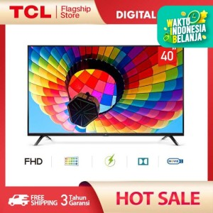 Harga tcl led tv 40 inch   full hd digital tv   hdmi usb   headphone | HARGALOKA.COM