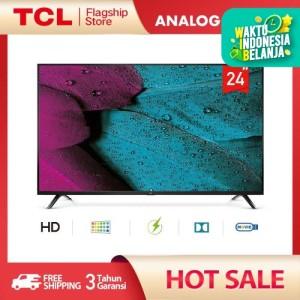 Harga tcl led tv 24 inch hd ready tv hdmi usb headphone antenna av in | HARGALOKA.COM